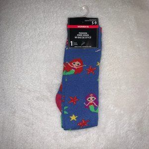 Cute Mermaid Knee High Socks